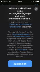 whatsapp nutzungsbedingung ios apple iphone