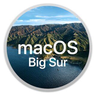 Logo Apple macOS 11.1 Big Sur